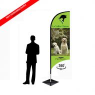 ProPlan Wind flag M recto/verso
